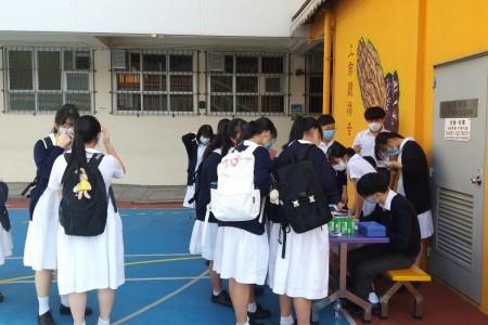 學生會拍照攤位及文具特賣