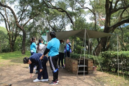 Girl Guides Wild Camping