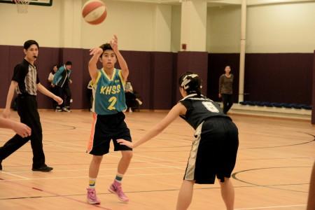 女子學界籃球冠軍戰