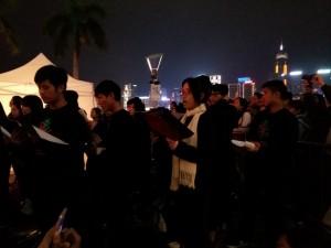 音樂科 --- 香港聖誕樹: 聖誕報佳音活動