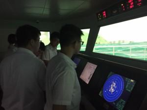 參觀海事訓練學校