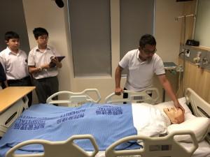 參觀東華學院護理系