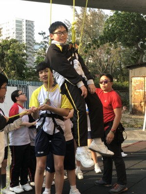 其它學習經歷組--攀石及遊繩體驗