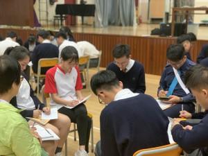 中文科新聞與報道《樂施會貧窮長者體驗活動》