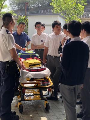 其它學習經歷組--參觀救護站